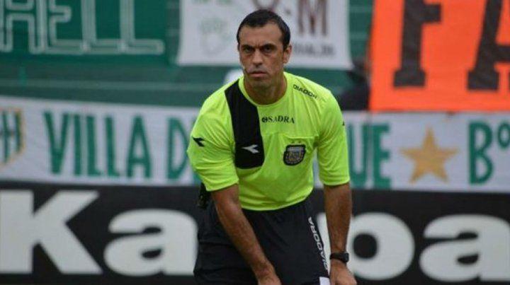Jorge Baliño será el árbitro del domingo para el clásico por la Copa Santa Fe