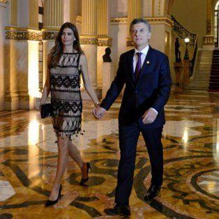 Mauricio Macri y Juliana Awada asistieron a la cena de gala que dio el saliente presidente de Perú,Ollanta Humala,