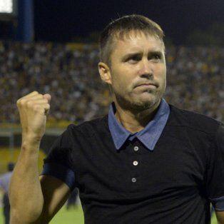 El director técnico de Rosario Central, Eduardo Coudet.