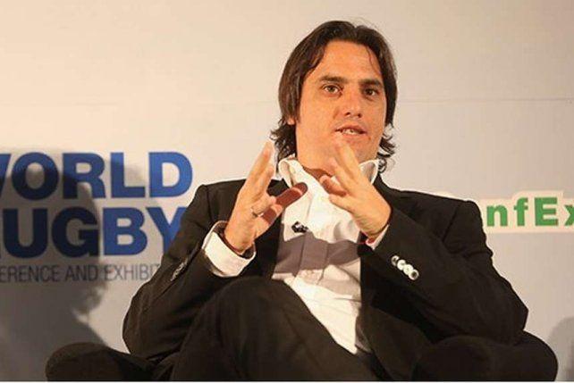 El exjugador de la selección argentina de rugby Agustín Pichot.