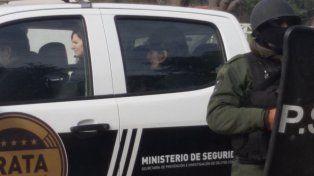 Una de las personas detenidas por el caso de maximiliano Sosa. (Foto: diario de Ceres)