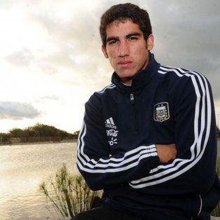 Lo quieren. Leandro Vega, quien juega poco en River y hoy está en la selección olímpica, es seguido por Newells.