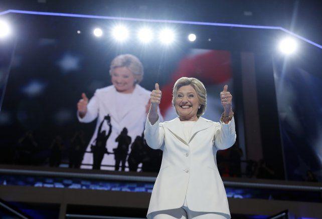 confianza. Hillary prometió más oportunidades