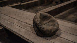 La historia de la antigua pelota de tiento hallada en la Sede Fundacional de Central