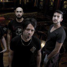 hard rock melódico. Dany Barbieri (al frente) dijo que el estilo de la banda es el resultado de mucho trabajo.