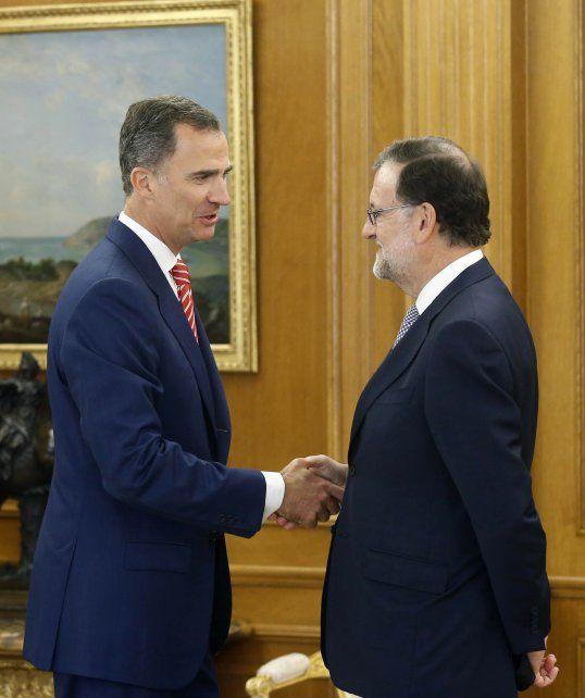 Acuerdo. Rajoy aceptó el pedido del rey de formar nuevo Ejecutivo.