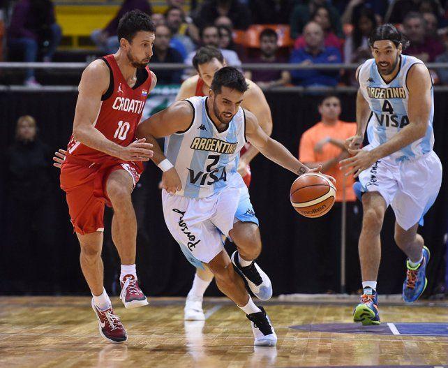En la previa de los Juegos Olímpicos, Argentina venció a Croacia en el inicio del Súper 4