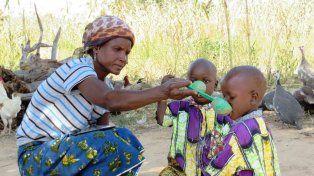 Penoso. La República Centroafricana tiene un gran número de hambrientos.