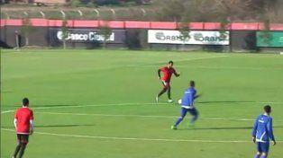 Newells empató en un gol ante Atlético Rafaela en el partido amistoso jugado en Bella Vista