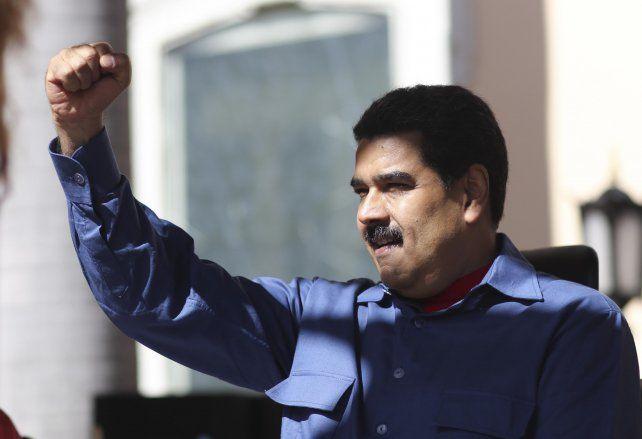 Firmeza. El presidente de Venezuela confía en revertir la crisis económica.