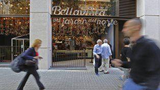 Movimiento. Fachada del Bellavista del Jardín... en calle Enric Granados 86.