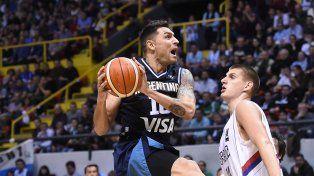 De la mano de Delfino, Argentina sumó otro triunfazo, esta vez ante Serbia