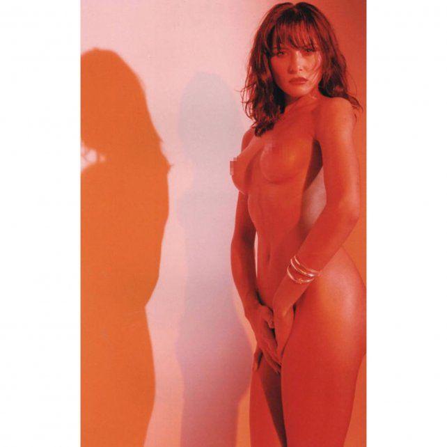 Melania Trump en la sesión de fotos de 1995 que hoy publicó el New York Post.