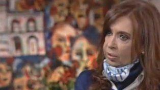 Cristina Kirchner dijo que impulsó el rediseño de una economía que nosotros la queríamos con consumo