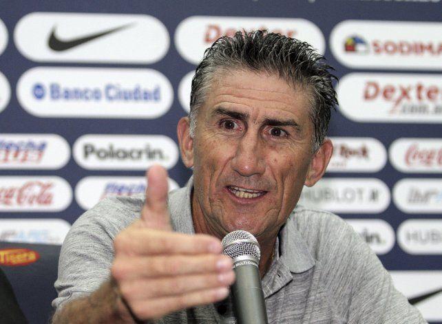 El Patón Bauza se convirtió en el nuevo entrenador de la selección argentina