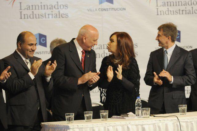 Diálogo difícil. El ex gobernador Antonio Bonfatti dijo que CFK prometió fondos que nunca llegaron.