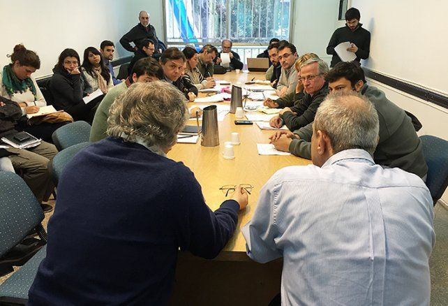 Desprotegidos. Los reclamos se formalizaron en la reunión de ayer de la comisión de Seguridad.