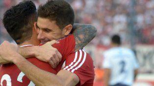 Goleadores. Driussi y Alario.