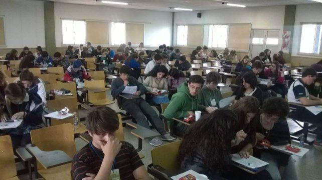 Las Olimpiadas de Biología se realizaban en la ciudad de Río Cuarto.