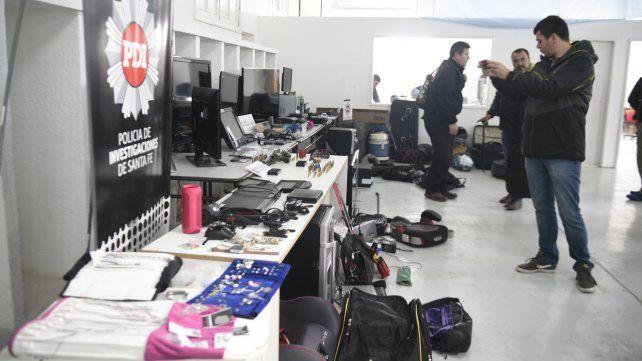 La Policía de Investigaciones (PDI) desbarató una peligrosa banda criminal que operaba en Rosario y localidades del sur santafesino.