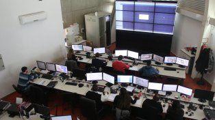 La transmisión de las imágenes captadas por las cámaras se podrá monitorear en siete terminales.