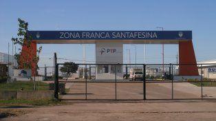 Dudas. La Zona Franca Santafesina que está en Villa Constitución.