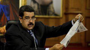 Aislado. Maduro y su canciller echan leña al fuego del conflicto