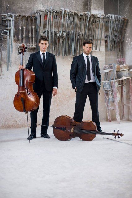 2 Cellos. Luka Sulic y Stjepan Hauser