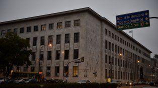 El edificio de Tribunales provinciales de Rosario.