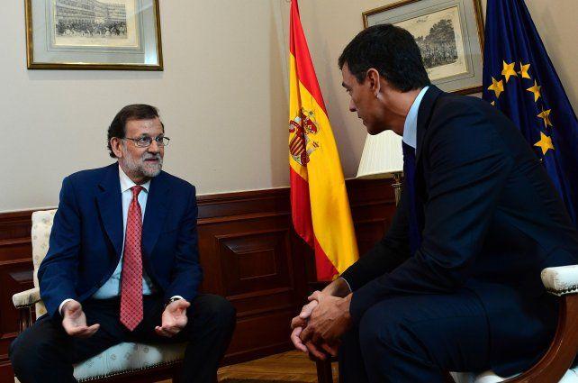 Gestiones. El líder del PSOE