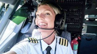 La piloto de aviación que es considerada más linda y que causa furor en las redes sociales