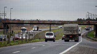 El sector donde se producen asaltos. Parce que no hay soluciones y los usuarios de la autopista siguen desprotegidos.