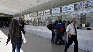 Terminal. Los rosarinos se encontraron ayer con los incrementos en algunas boleterías.