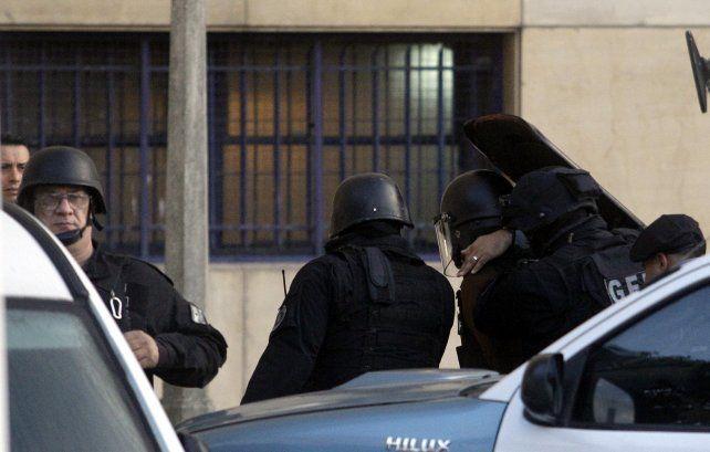 seguridad extrema. López fue trasladado desde la cárcel de Ezeiza.