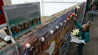 Uno de los homenajes en Salta 2141.