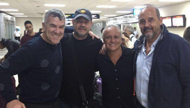 Del Sel recibió a Dady Brieva y Chino Volpato en el reencuentro de Midachi en Panamá