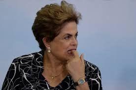de salida. Dilma en una de sus últimas apariciones como presidenta en el Planalto