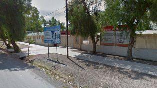La escuela mendocina donde se produjo el episodio.