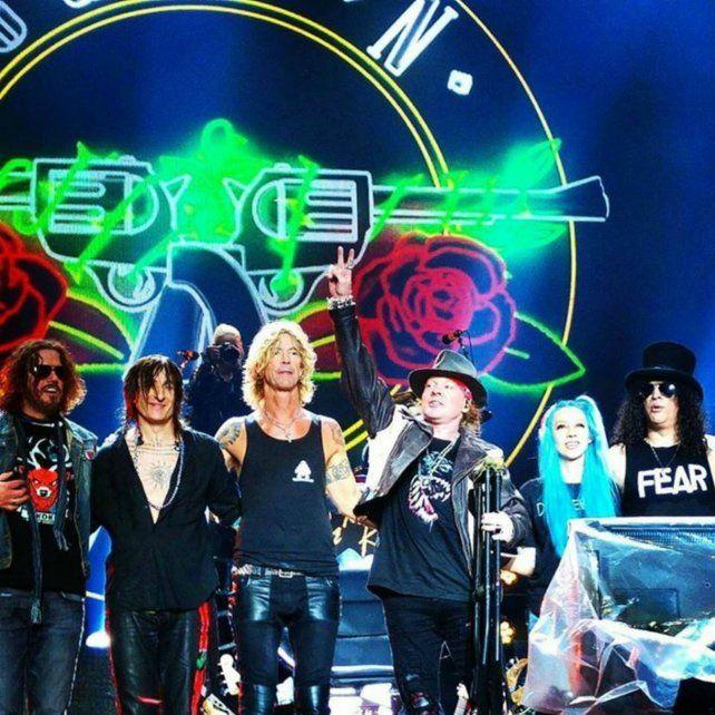 Los Guns N Roses tocarán en el estadio de Central en noviembre