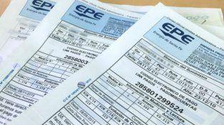 Impuestos. Las boletas de la EPE ya se empezaron a repartir en los domicilios. La empresa sugiere abonarlas.