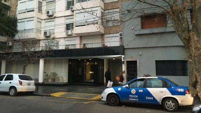 El edificio donde vive Martínez tiene custodio policial.