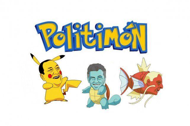 Así sería Pokémon Go con políticos argentinos como protagonistas