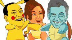 asi seria el popular pokemon go con politicos argentinos como protagonistas