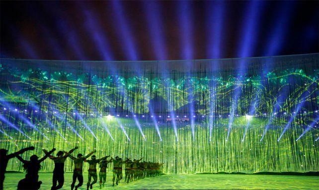 Con una fiesta colorida, se abrieron oficialmente los Juegos Olímpicos de Río de Janeiro