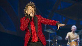 Mick Jagger en escena. El líder de la banda legendaria hizo delirar a los cubanos.