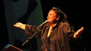 Argentinos. María Creuza tiene tres músicos en su banda