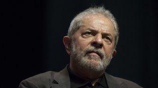 Acusado. Lula denunció que es víctima de persecución judicial.