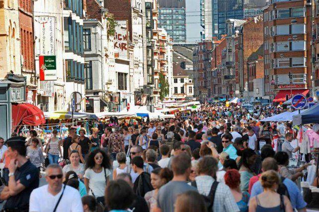 Prevención. El famoso mercado de pulgas de Lille (norte de Francia) contó en 2015 con 2