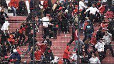 Corridas. En el último partido que jugó Newells en el Coloso por Copa Santa Fe hubo incidentes en la tribuna.
