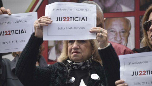 A tres años de la peor tragedia en la historia de Rosario. Hubo fuertes reclamos de Justicia.